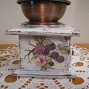 Для дома и интерьера ручной работы. Ярмарка Мастеров - ручная работа кофемолка. Handmade.