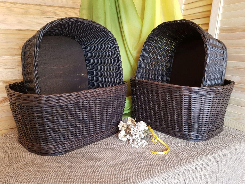 Плетеные Корзины для хранения – заказать на Ярмарке Мастеров – JRNDCRU | Корзины, Ижевск