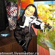 """Куклы и игрушки ручной работы. Ярмарка Мастеров - ручная работа Кукла """"Скрипач"""". Handmade."""