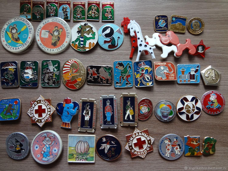 Винтаж:  Советские значки, Сувениры винтажные, Рязань,  Фото №1