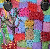 """Сумки и аксессуары ручной работы. Ярмарка Мастеров - ручная работа Сумка из войлока по мотивам """"Весна"""". Handmade."""