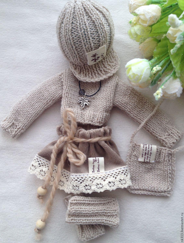 """""""Нежный беж"""" комплект для куклы, Одежда для кукол, Верхний Уфалей, Фото №1"""