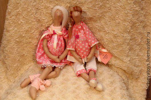 Куклы Тильды ручной работы. Ярмарка Мастеров - ручная работа. Купить В ожидании чуда. Handmade. Розовый, будущей маме
