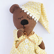 Куклы и игрушки ручной работы. Ярмарка Мастеров - ручная работа Ми-мишка Соня. Handmade.