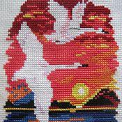 Картины и панно ручной работы. Ярмарка Мастеров - ручная работа Лебеди. Handmade.