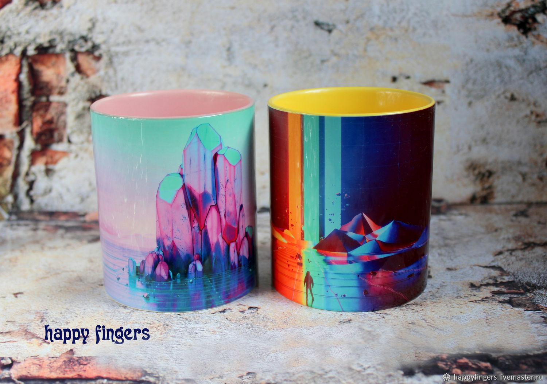 Mug 'Imagine Dragons' Dragons music band, Mugs and cups, Elektrostal,  Фото №1