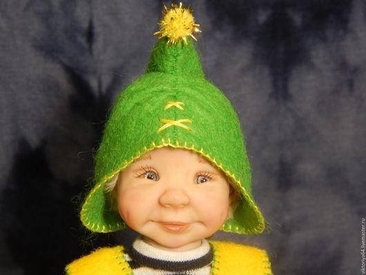 Куклы-младенцы и reborn ручной работы. Ярмарка Мастеров - ручная работа. Купить Самый маленький гном). Handmade. Комбинированный, кукла