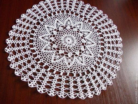 Текстиль, ковры ручной работы. Ярмарка Мастеров - ручная работа. Купить салфетка № 1. Handmade. Салфетка, Салфетка вязаная