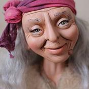 """Куклы и игрушки ручной работы. Ярмарка Мастеров - ручная работа Интерьерная кукла"""" Ягуша - веселуша"""". Handmade."""