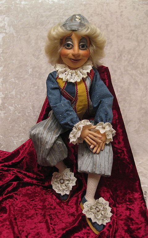 Коллекционные куклы ручной работы. Ярмарка Мастеров - ручная работа. Купить Кукла Клоун. Handmade. Клоун, купить клоуна, синтепон