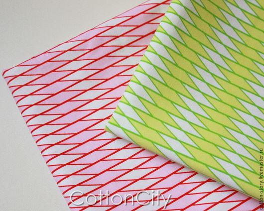 Шитье ручной работы. Ярмарка Мастеров - ручная работа. Купить Американские ткани Бриллиантовые грани. Handmade. Набор тканей, хлопок