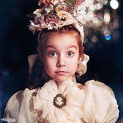 Работы для детей, handmade. Livemaster - original item Elegant costume for girls