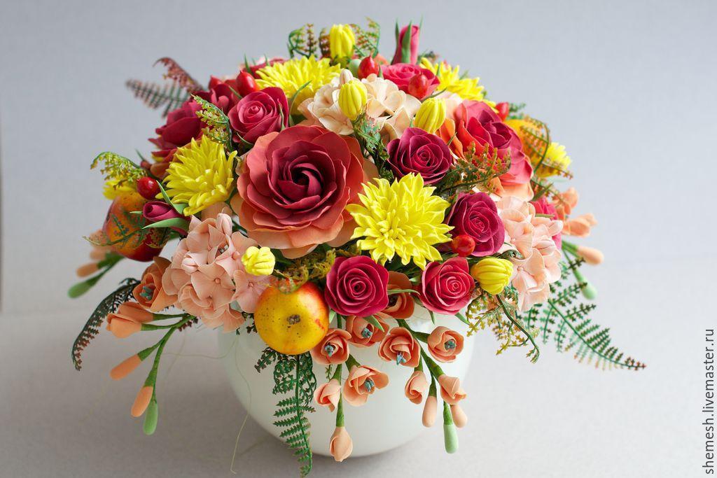 цветочная композиция фото