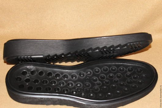 Обувь ручной работы. Ярмарка Мастеров - ручная работа. Купить Подошва ДАКОТА толстая. Handmade. Черный, подошва мужская