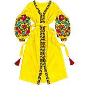 """Одежда handmade. Livemaster - original item Длинное платье """"Цветочная Нимфа"""". Handmade."""