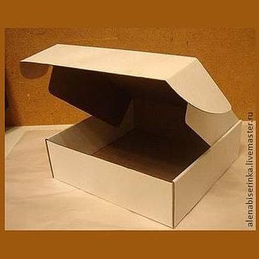 Материалы для творчества ручной работы. Ярмарка Мастеров - ручная работа Коробочки из микрогофрокартона (разные размеры). Handmade.