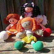 Куклы и игрушки ручной работы. Ярмарка Мастеров - ручная работа Куклы-подружки. Handmade.