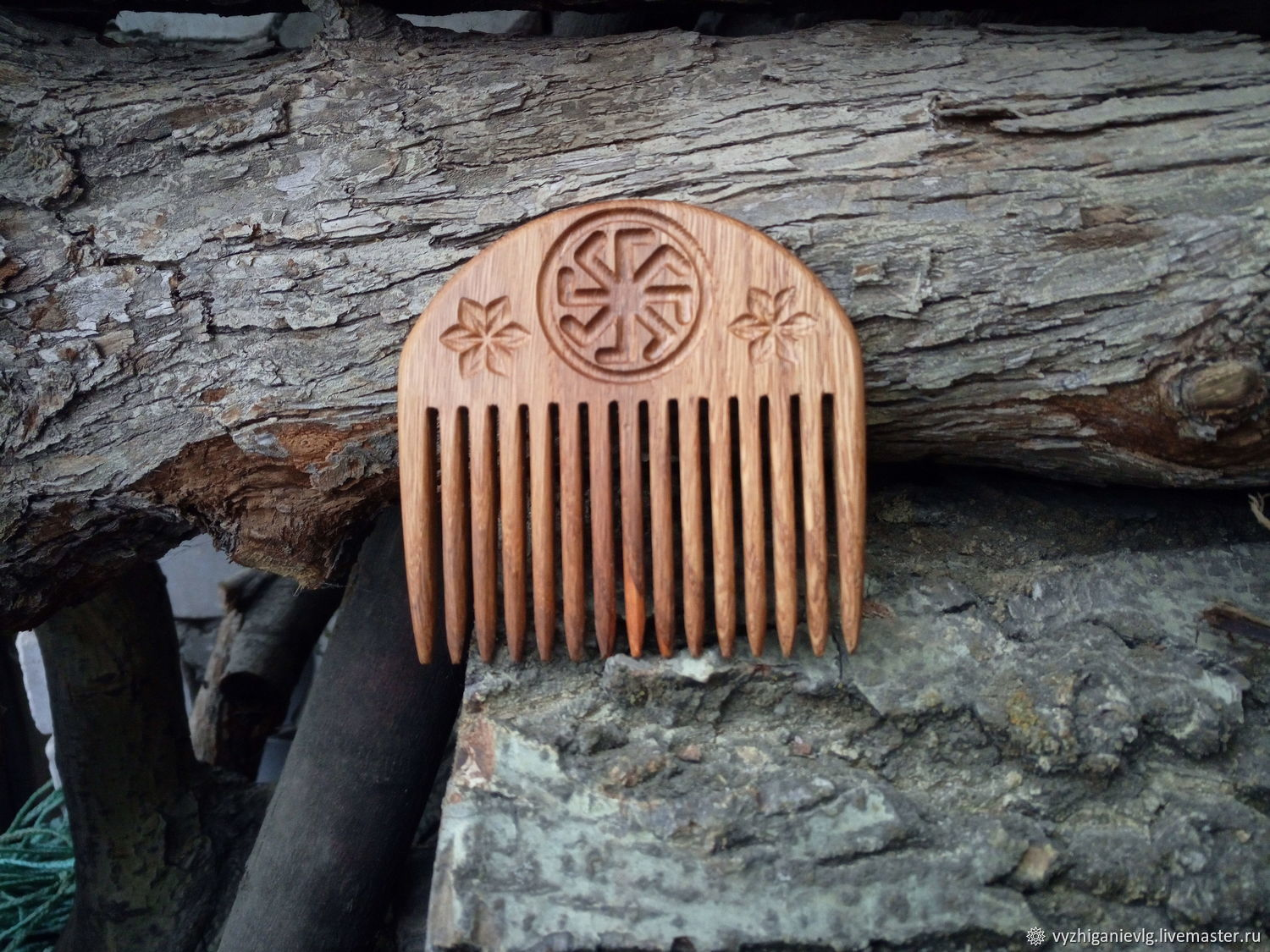 The comb from the tree 'Ladines', Combs, Volgograd,  Фото №1