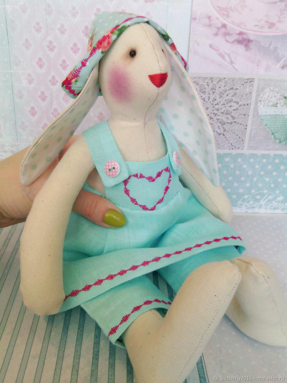 Крольчиха в нежно голубом, Тильды, Воркута, Фото №1