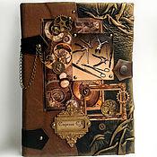 Сувениры и подарки ручной работы. Ярмарка Мастеров - ручная работа Ежедневник мужской кожаный Хирургия3 подарки для мужчин. Handmade.