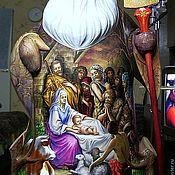 """Русский стиль ручной работы. Ярмарка Мастеров - ручная работа Дед Мороз.""""Рождество Христово"""". Handmade."""