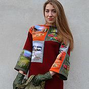 """Одежда ручной работы. Ярмарка Мастеров - ручная работа """"  Времена года . Коллаж  """". Handmade."""