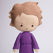 Куклы и игрушки ручной работы. Ярмарка Мастеров - ручная работа Миссис Хадсон - кукла ручной работы по мотивам сериала Шерлок BBC. Handmade.