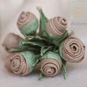Куклы и игрушки ручной работы. Ярмарка Мастеров - ручная работа Букет чайных роз. Handmade.