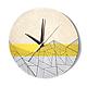 Часы для дома ручной работы. Ярмарка Мастеров - ручная работа. Купить Часы из дерева Лайта. Часы ручной работы.. Handmade.