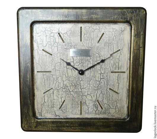 Часы для дома ручной работы. Ярмарка Мастеров - ручная работа. Купить Настенные часы. Старый белый бук. Два.. Handmade.