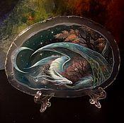 Картины и панно ручной работы. Ярмарка Мастеров - ручная работа Призрачная Луна. Handmade.