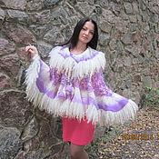 Одежда handmade. Livemaster - original item Poncho Cape