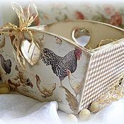 """Для дома и интерьера ручной работы. Ярмарка Мастеров - ручная работа Короб для кухни """"COUNTRY"""". Handmade."""