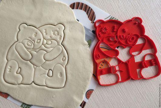 Кухня ручной работы. Ярмарка Мастеров - ручная работа. Купить Форма для печенья Мишка. Handmade. Разноцветный, форма для пряников