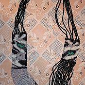 Колье ручной работы. Ярмарка Мастеров - ручная работа Колье из бисера, ручная работа. Handmade.