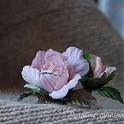Украшения ручной работы. Ярмарка Мастеров - ручная работа Розовыe фрeзии. Handmade.
