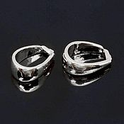 Материалы для творчества handmade. Livemaster - original item Bail 10 mm rhodium plating South Korea (4685). Handmade.
