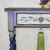 """Для дома и интерьера ручной работы. Ярмарка Мастеров - ручная работа """"Безмятежность"""" консоль с ящиком. Handmade."""