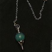 Фен-шуй и эзотерика handmade. Livemaster - original item Lapis lazuli 40mm Gemstone Ball Pendulum Chakra Pendant. Handmade.