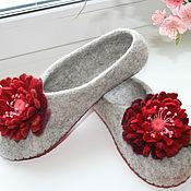 Обувь ручной работы. Ярмарка Мастеров - ручная работа Тапочки Весна. Handmade.