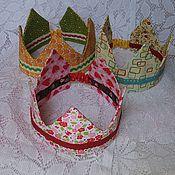 Работы для детей, ручной работы. Ярмарка Мастеров - ручная работа Корона для принцессы и принца. Handmade.