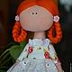 Куклы тыквоголовки ручной работы. ,,ПрЫнцесска,,. Елена (elenadollworld). Ярмарка Мастеров. Кукла рыжая, кукла принцесса, кружево эластичное