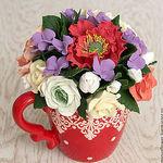 Blooming bouquet - Ярмарка Мастеров - ручная работа, handmade