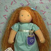 Куклы и игрушки ручной работы. Ярмарка Мастеров - ручная работа Вальдорфская кукла, Лисичка 32 см. Handmade.
