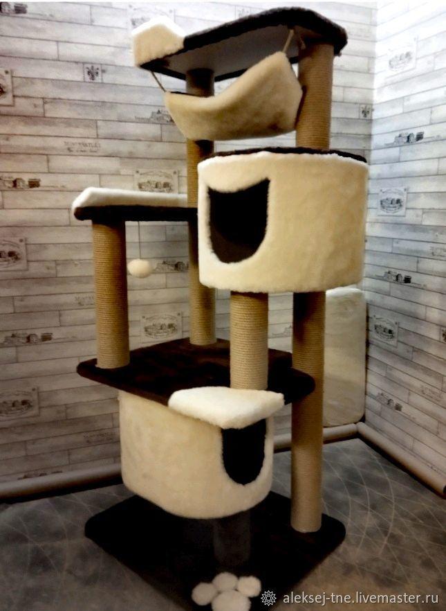 Комплекс для кошек номер 0015, Домик для питомца, Москва,  Фото №1