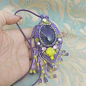 Украшения handmade. Livemaster - original item Amethyst pendant. Handmade.