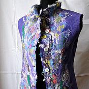 """Одежда ручной работы. Ярмарка Мастеров - ручная работа """"Лунная радуга"""" жилет.. Handmade."""