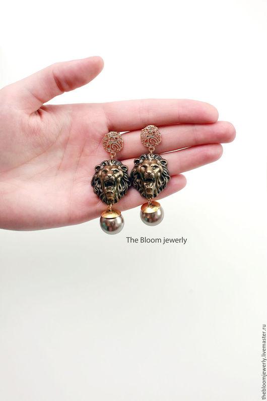 Серьги The Bloom jewelry