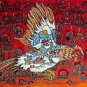 Картины и панно handmade. Livemaster - original item Batik murals