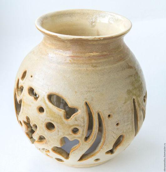 Вазы ручной работы. Ярмарка Мастеров - ручная работа. Купить Пески Нила. Handmade. Бежевый, ваза для сада, египет